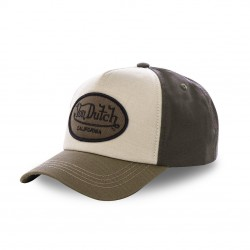 Casquette baseball marron...